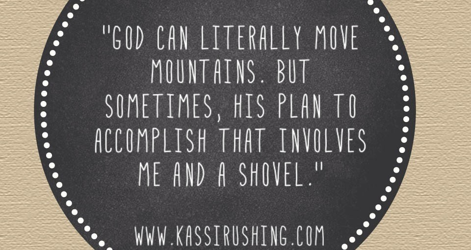 He Moves Mountains